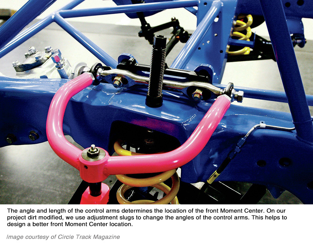 Control arms detail