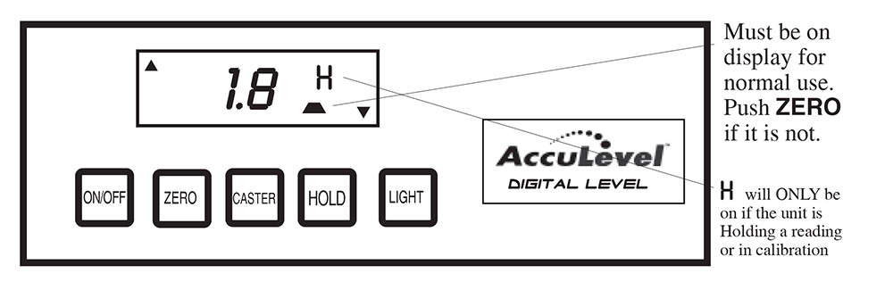 AccuLevel Digital Level