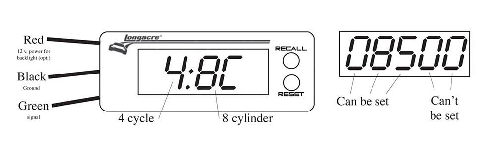 Accutech digital tachometer