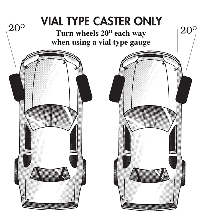 Caster Camber Gauge Instructions