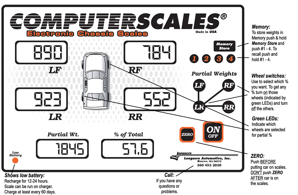 Computerscales 72606 display