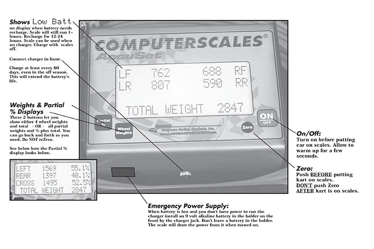 Computerscales 72625