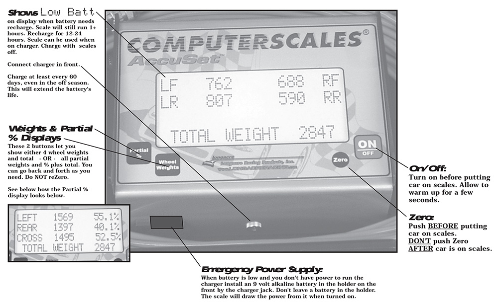 Computerscales AccuSet 72594