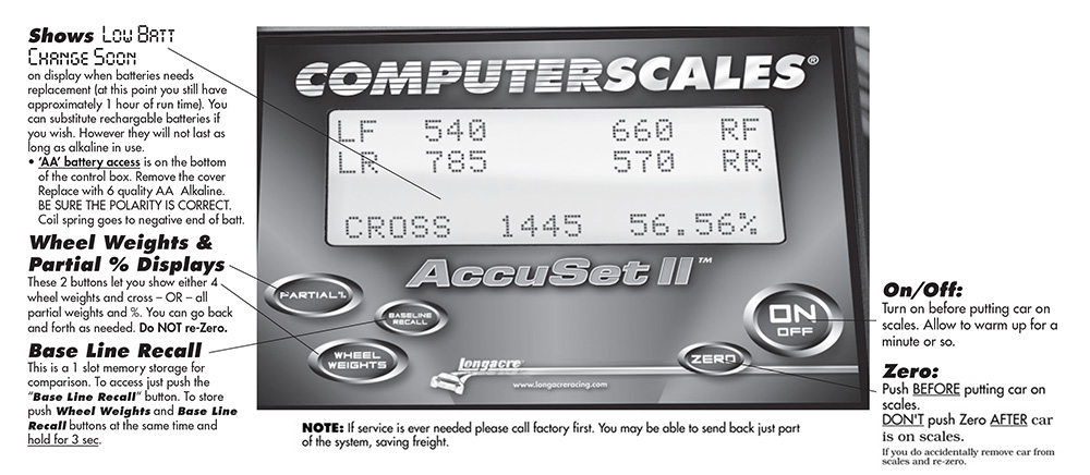 Computerscales AccuSet II