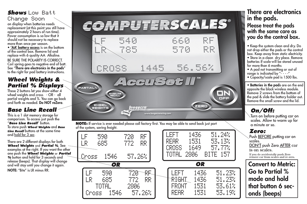 Computerscales Wireless AccuSet II