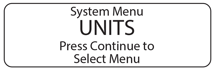 Computerscales DXI units