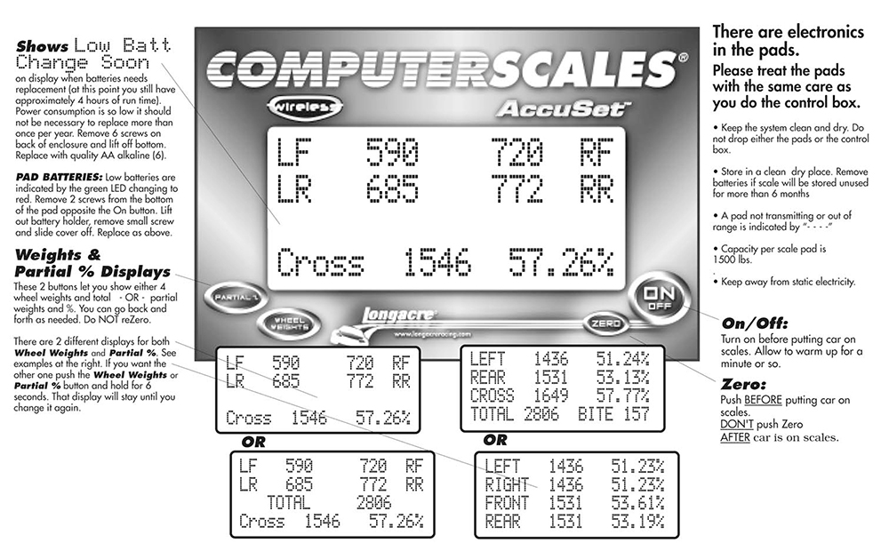 Computerscales Wireless AccuSet