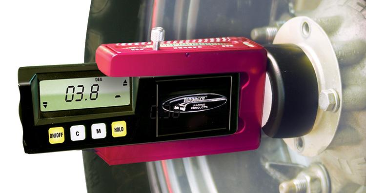 Digital caster camber gauge version 3