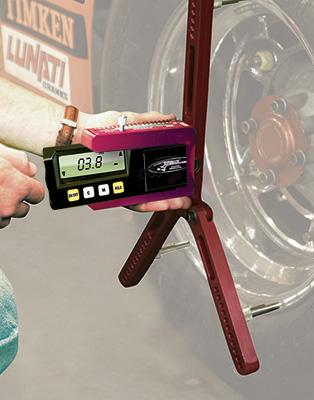 Digital caster camber gauge quickset ver 3