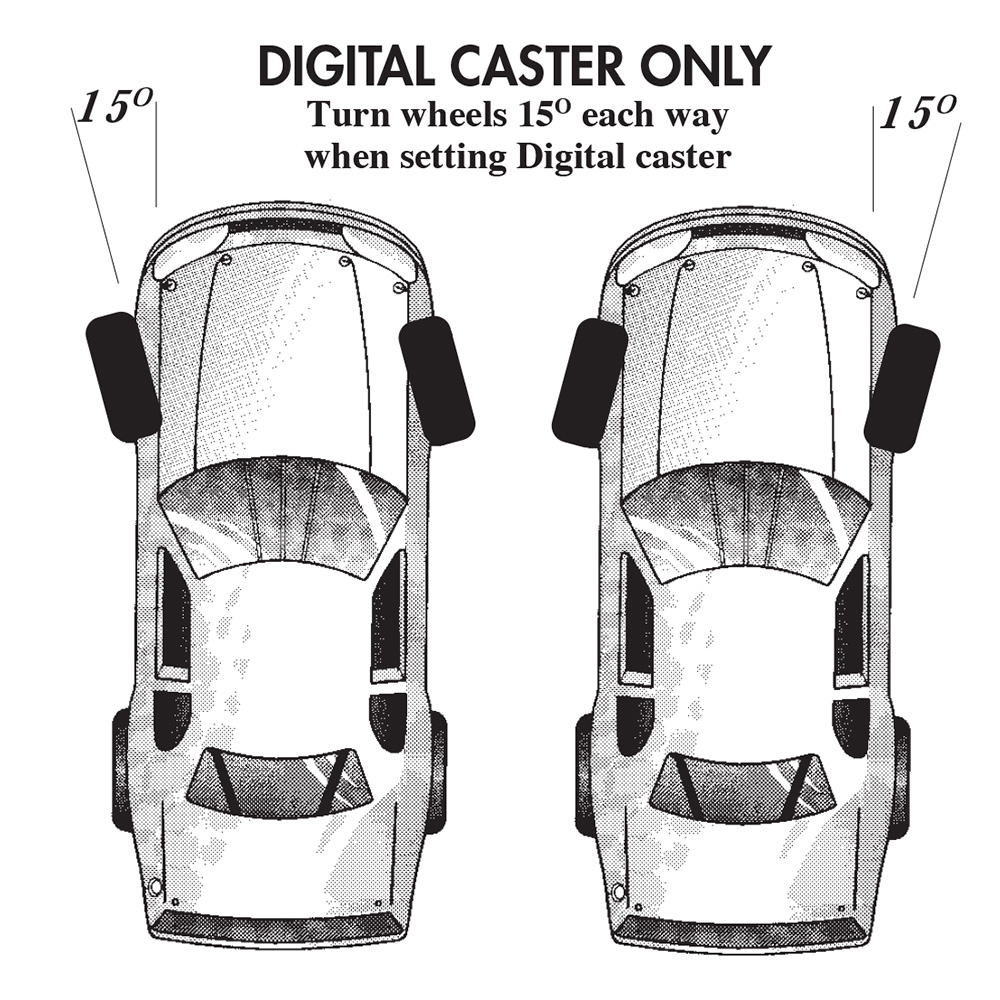 Digital caster only