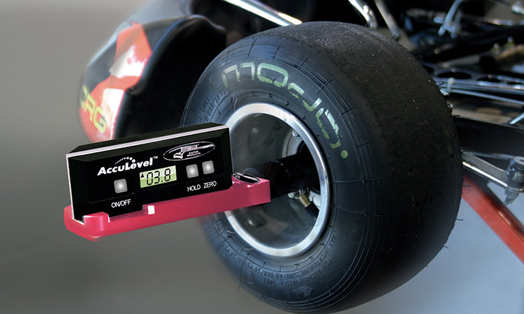 Digital Kart Caster Camber Gauge AccuLevel v2