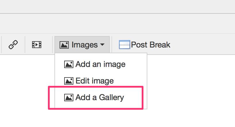 Add a Gallery Screenshot