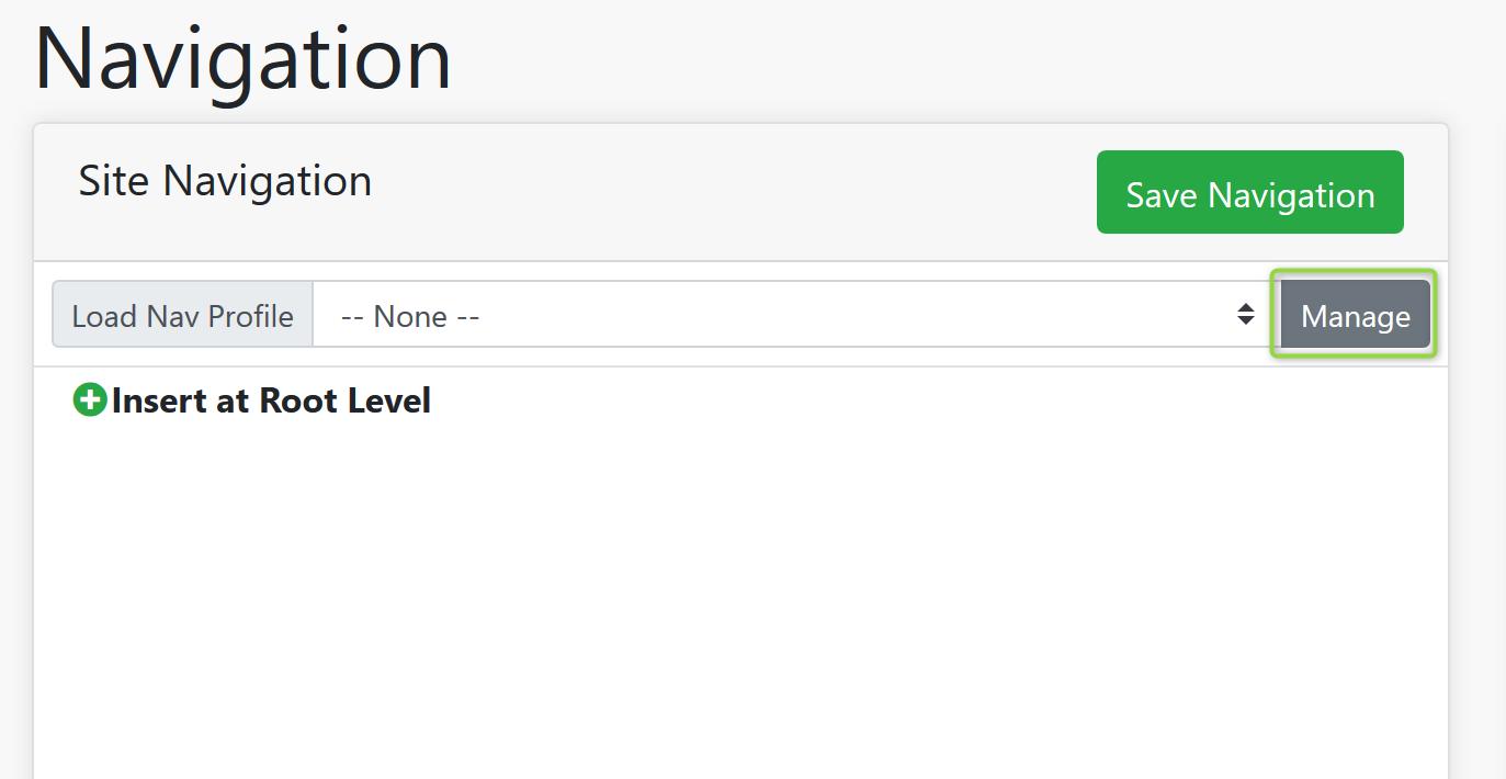 Navigation Screenshot