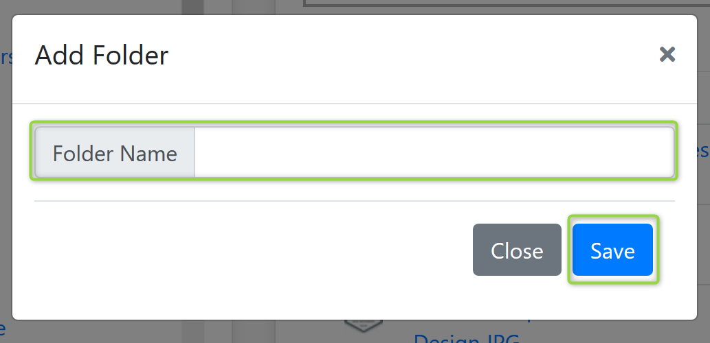 Folder Name Screenshot