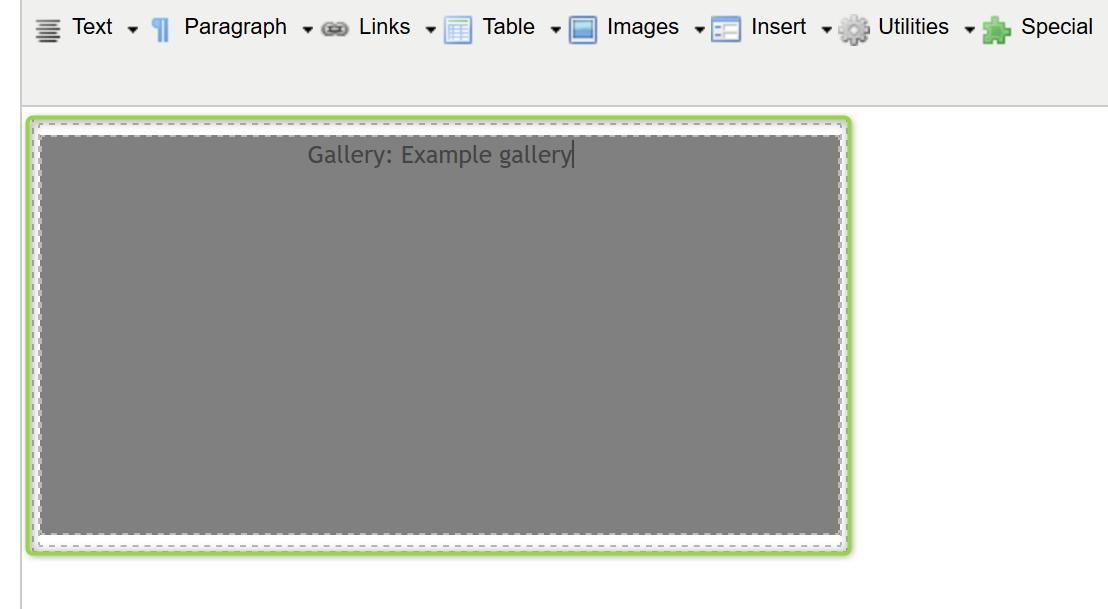 Gallery Example Screenshot