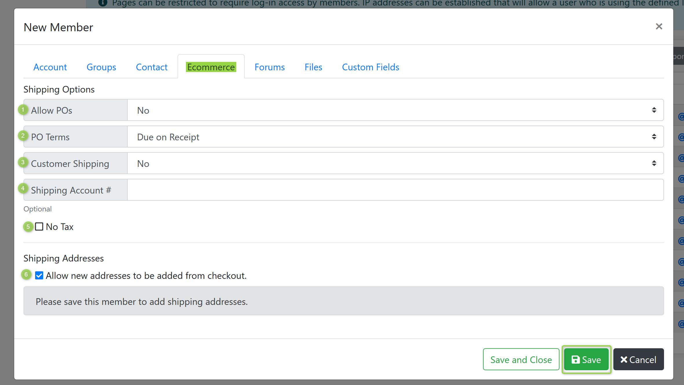 New Memper Ecommerce Screenshot